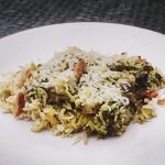 Leftovers: Lamb Biryani